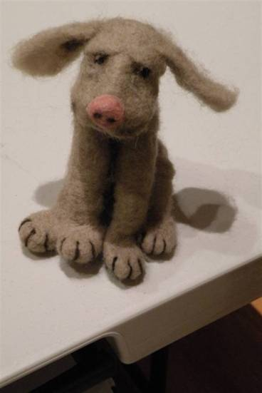 Needle Felted Pups Workshop Project
